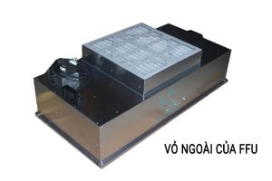 Cấu tạo chi tiết của thiết bị lọc không khí FFU