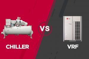 Sự khác nhau giữa Chiller và VRF