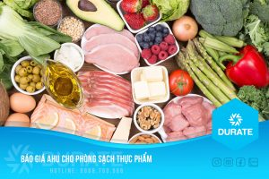 Báo giá AHU cho phòng sạch thực phẩm