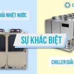 Sự khác nhau Chiller giải nhiệt nước và giải nhiệt gió
